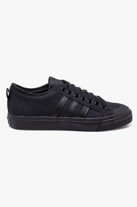 čierna adidas Originals - Tenisky Nizza Pánsky