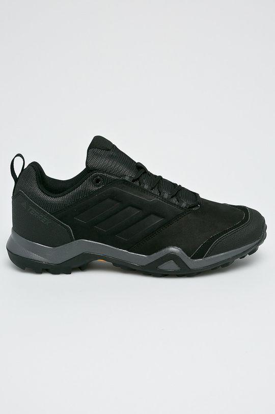 čierna adidas Performance - Topánky Terrex Brushwood Leather Pánsky