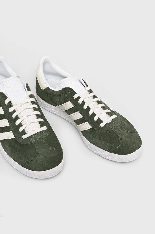 adidas Originals - Topánky Gazelle hnedo zelená