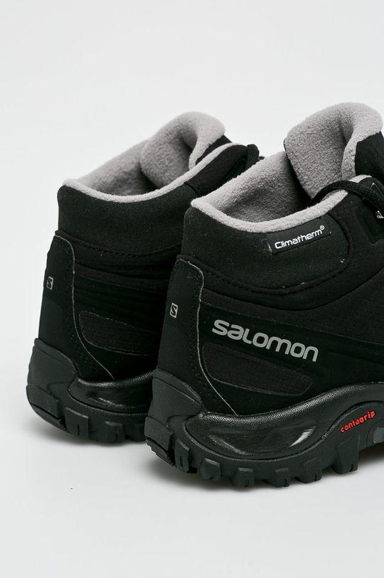 fekete Salomon - Cipő Shelter Cs Wp