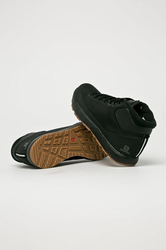 fekete Salomon - Cipő Acro Chukka