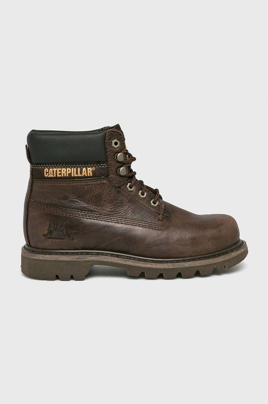 maro inchis Caterpillar - Pantofi inalti De bărbați