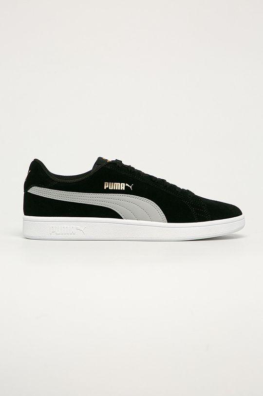negru Puma - Ghete de piele Smash v2 De bărbați