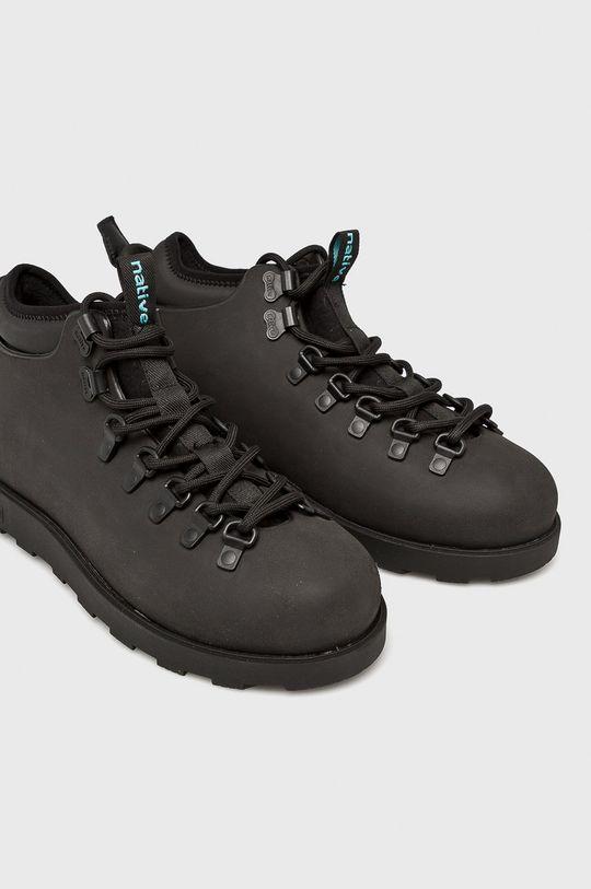 Native - Topánky Fitzsimmons čierna
