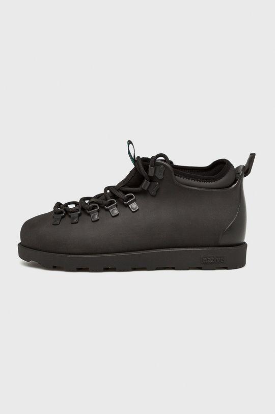 čierna Native - Topánky Fitzsimmons