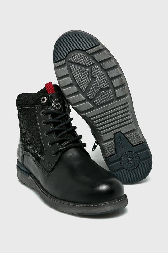 s. Oliver - Topánky čierna