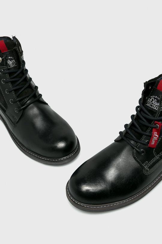 čierna s. Oliver - Topánky