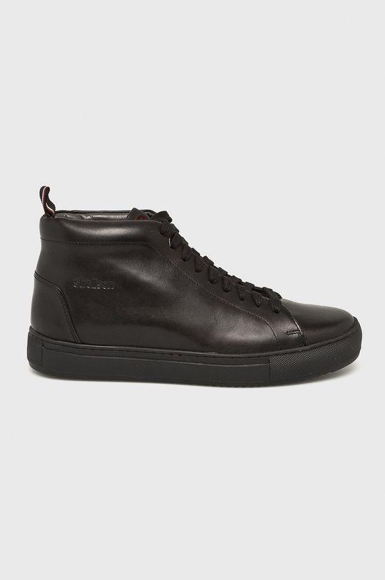 čierna Strellson - Topánky Pánsky