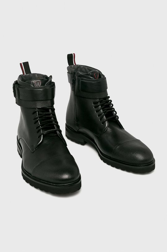 Strellson - Topánky čierna