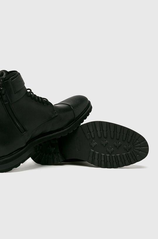 čierna Strellson - Topánky