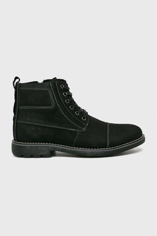 čierna American Club - Topánky Pánsky