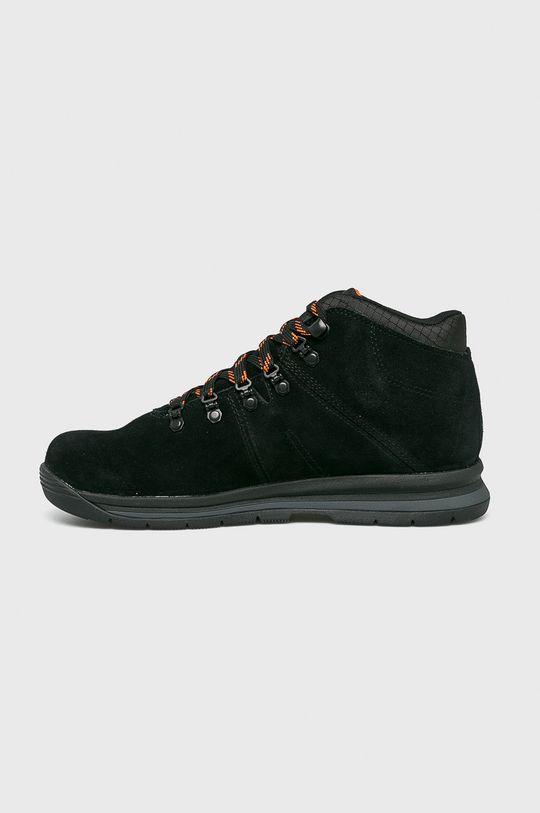 čierna Timberland - Vysoké čižmy