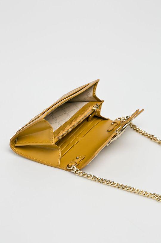žlutá Pinko - Kožená peněženka