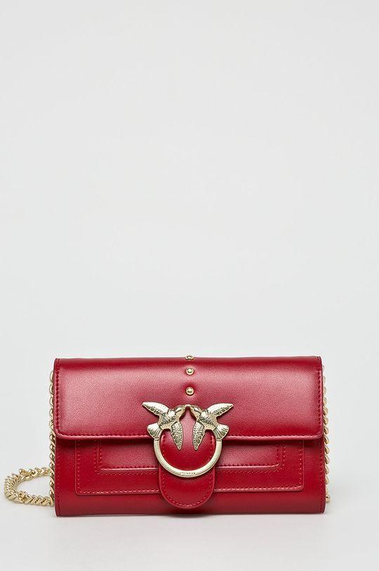 červená Pinko - Kožená peněženka Dámský