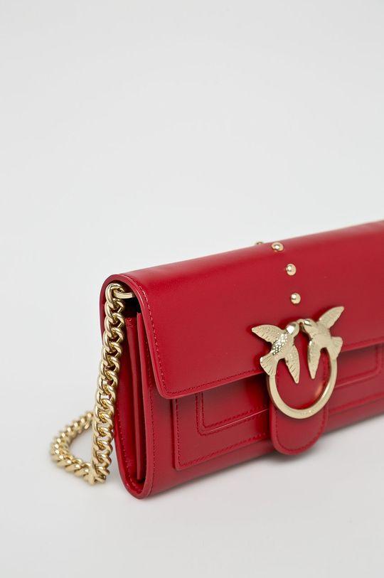 červená Pinko - Kožená peněženka