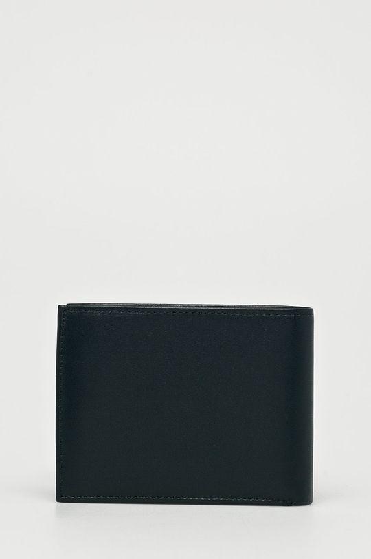 Calvin Klein - Kožená peněženka námořnická modř