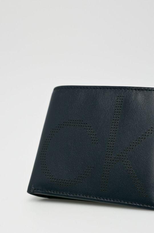 námořnická modř Calvin Klein - Kožená peněženka