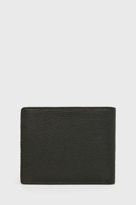 Strellson - Kožená peňaženka tmavohnedá