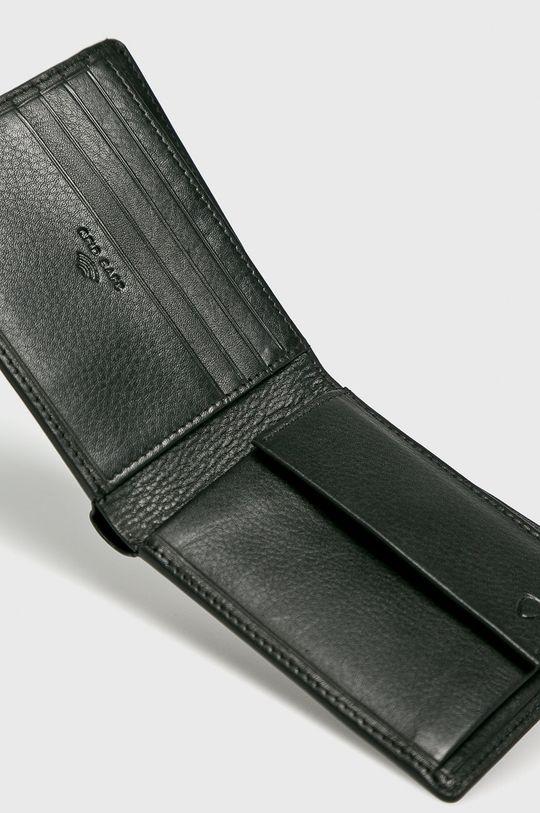 Strellson - Portfel skórzany czarny