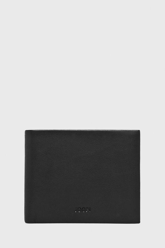 čierna Joop! - Kožená peňaženka Pánsky