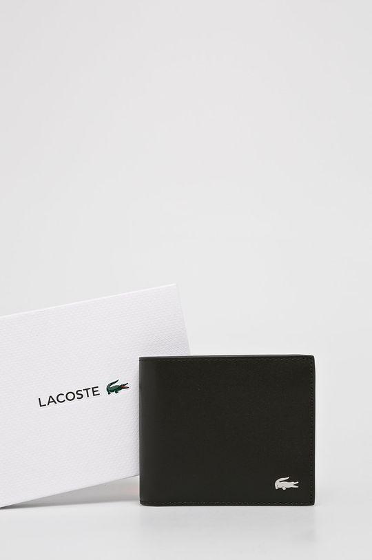 brązowy Lacoste - Portfel skórzany