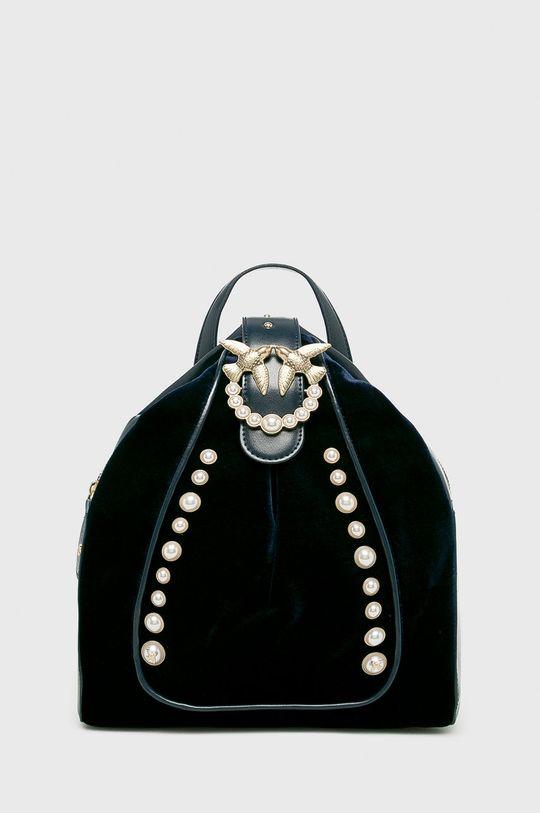 námořnická modř Pinko - Kožený batoh Dámský