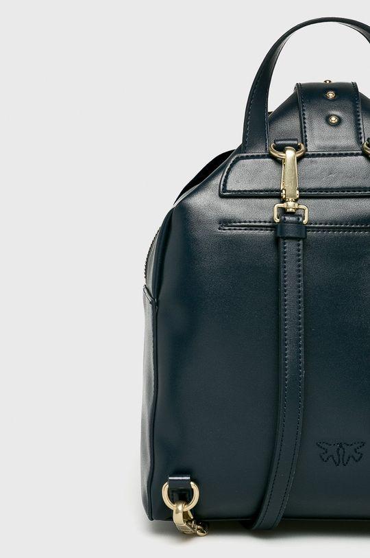 Pinko - Kožený batoh námořnická modř