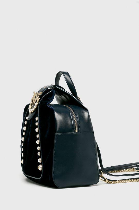 námořnická modř Pinko - Kožený batoh