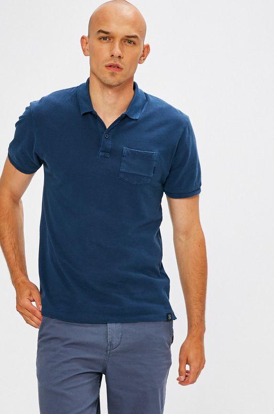 modrá Scotch & Soda - Pánske polo tričko Pánsky