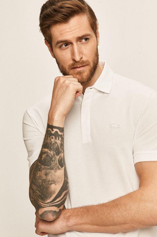 bílá Lacoste - Polo tričko Pánský