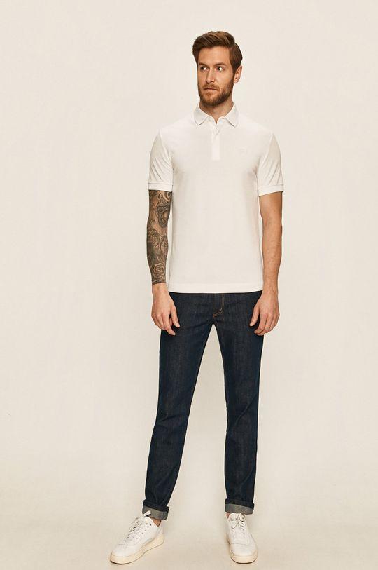 Lacoste - Polo tričko bílá