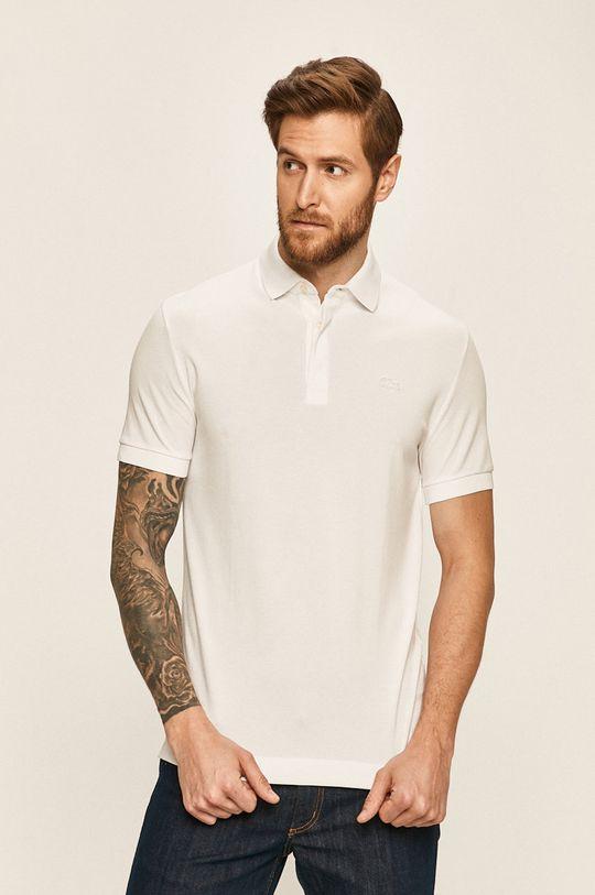 bílá Lacoste - Polo tričko