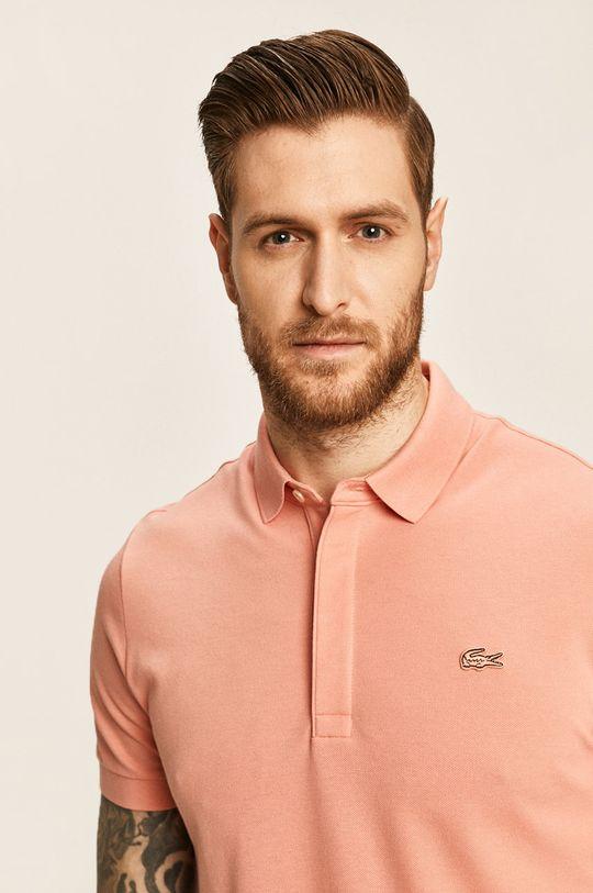 roz Lacoste - Tricou Polo De bărbați