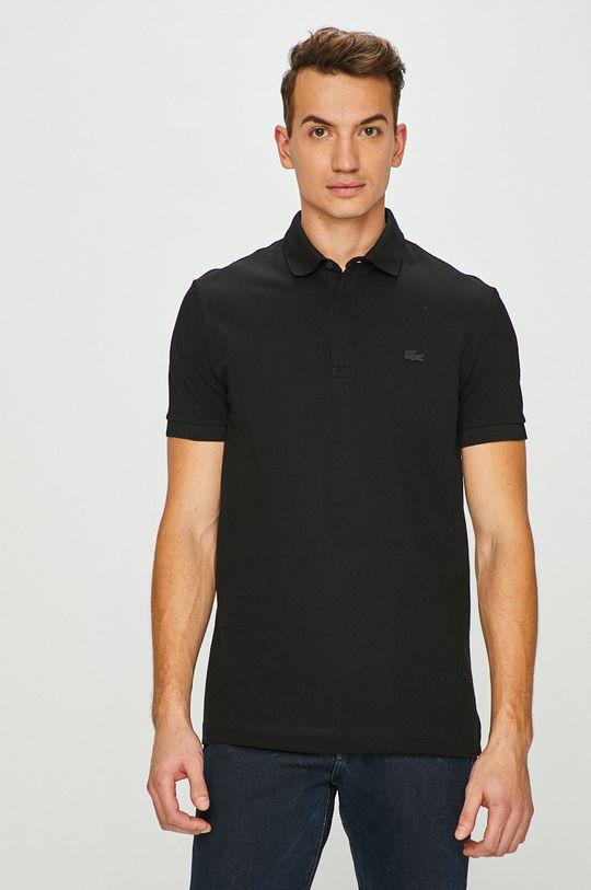 černá Lacoste - Polo tričko Pánský