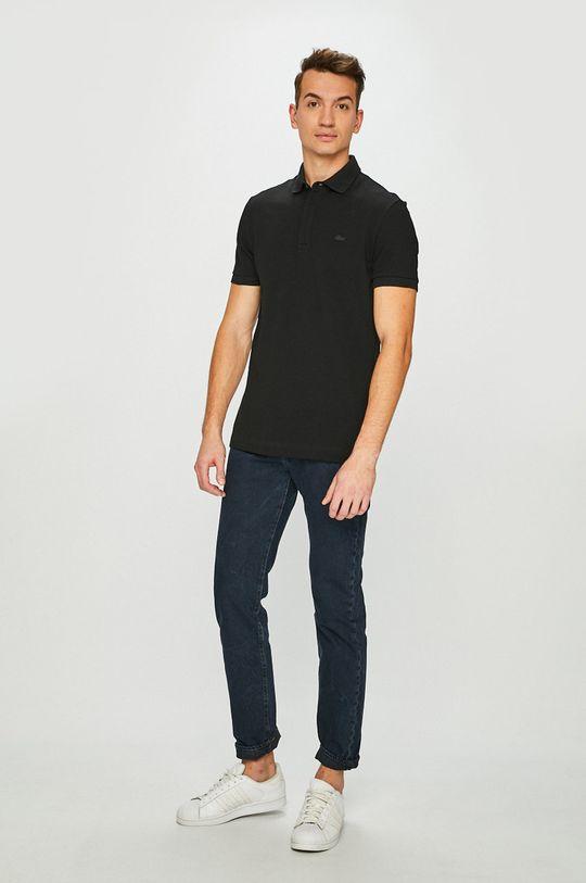 Lacoste - Polo tričko černá