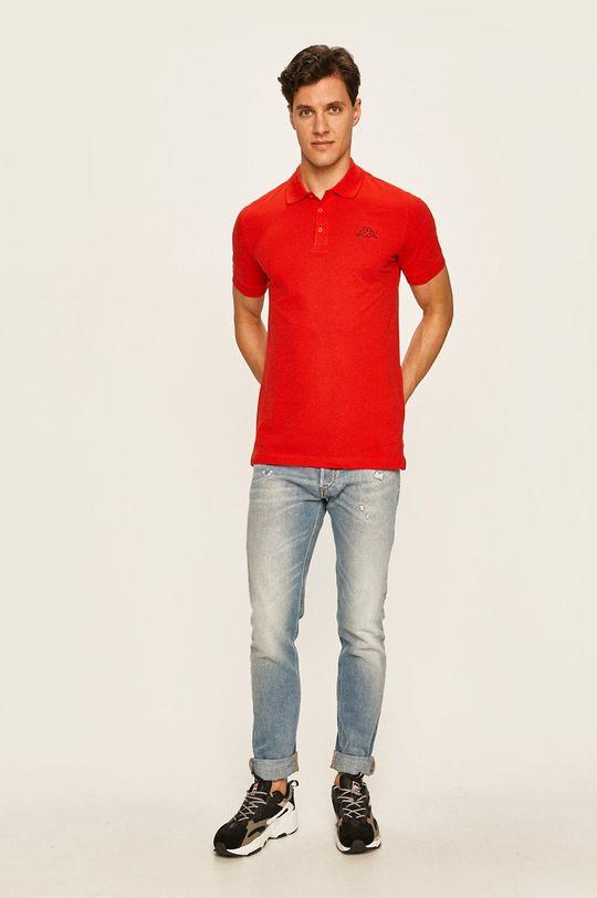 Kappa - Polo tričko červená