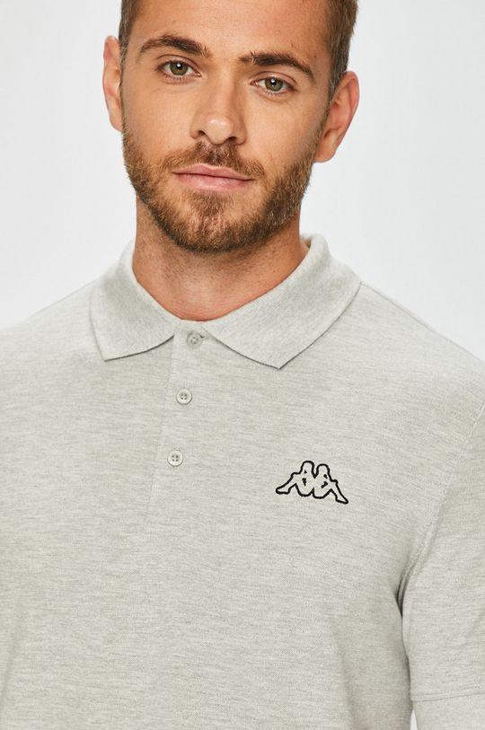 Kappa - Pánske polo tričko sivá