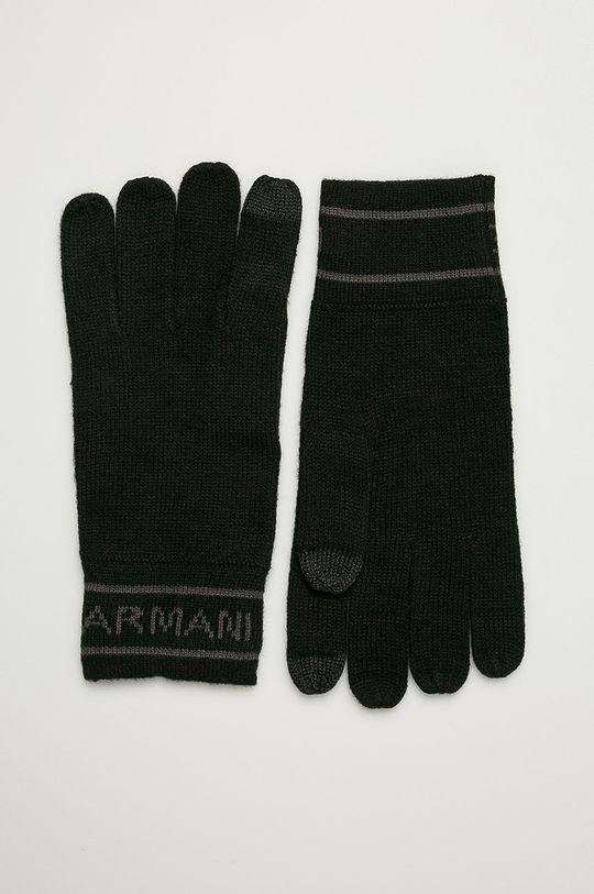 čierna Armani Exchange - Rukavice Pánsky