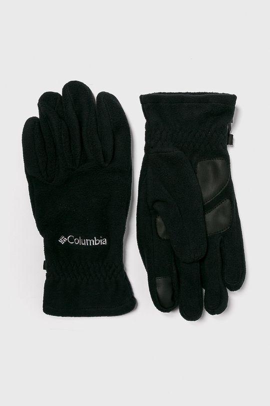 czarny Columbia - Rękawiczki Męski