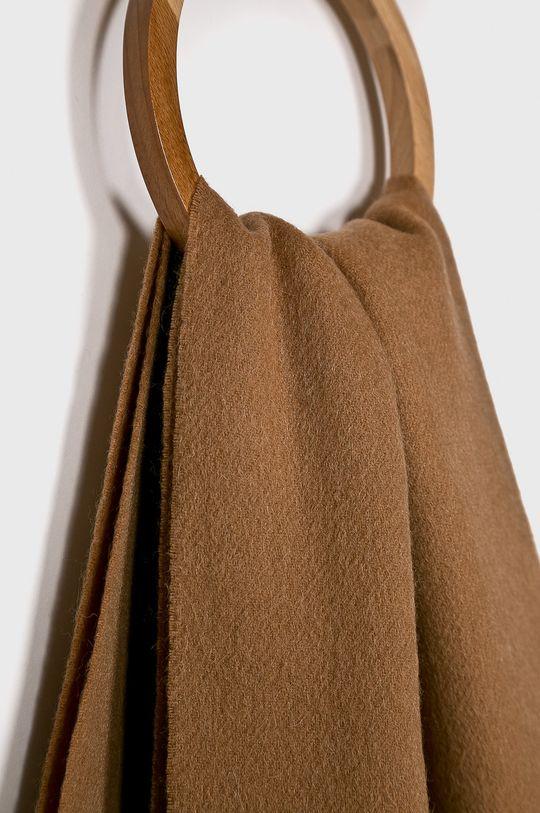 Selected - Шарф коричневий