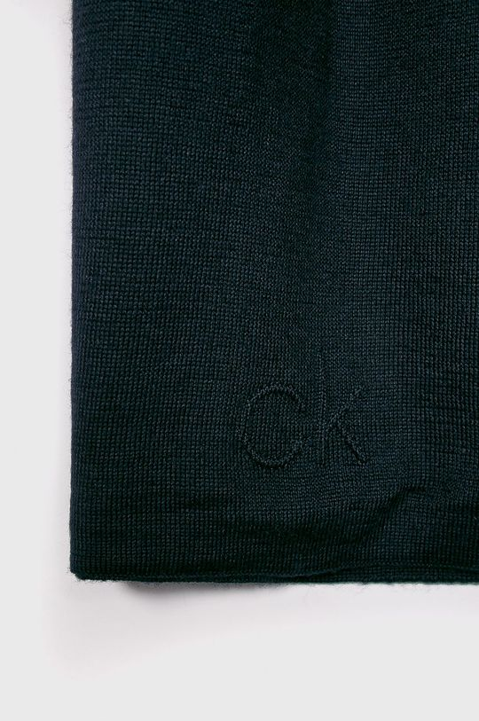 Calvin Klein - Fular bleumarin