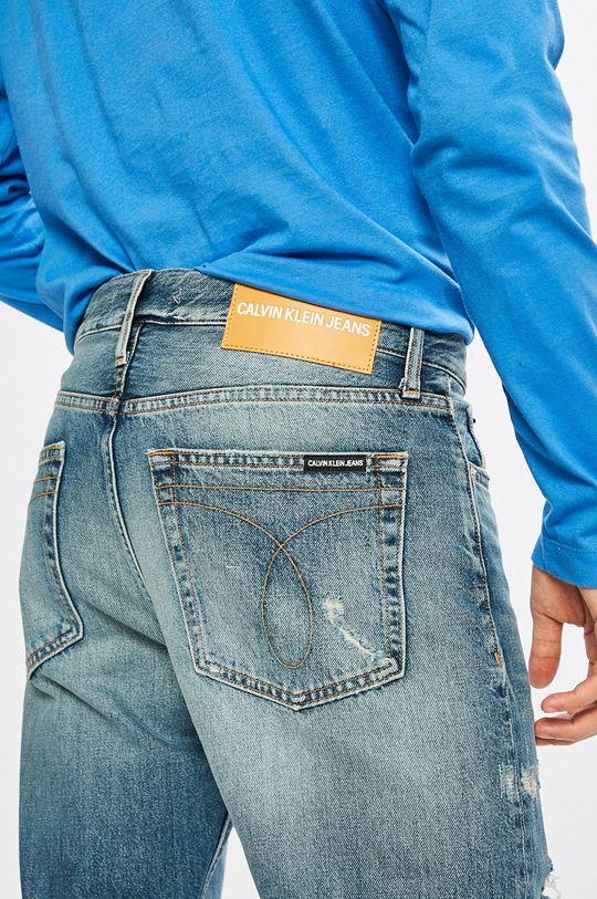 modrá Calvin Klein Jeans - Džíny