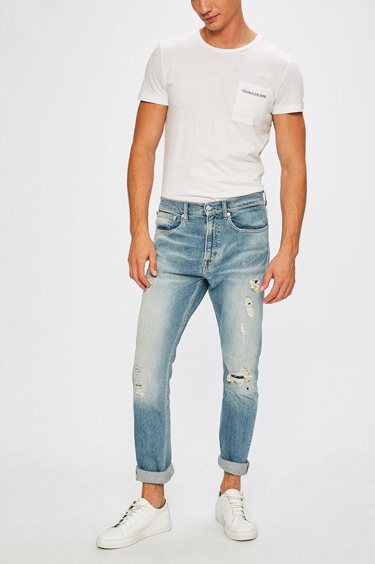 albastru Calvin Klein Jeans - Jeansi Athletic De bărbați