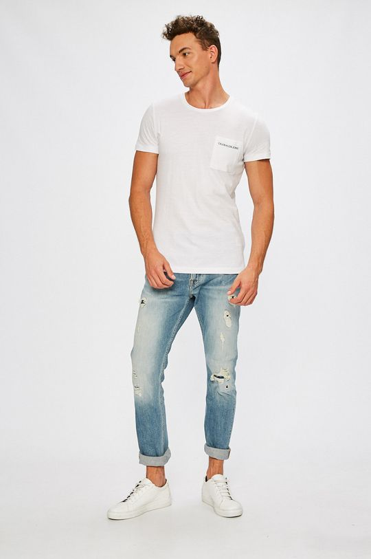Calvin Klein Jeans - Jeansi Athletic albastru
