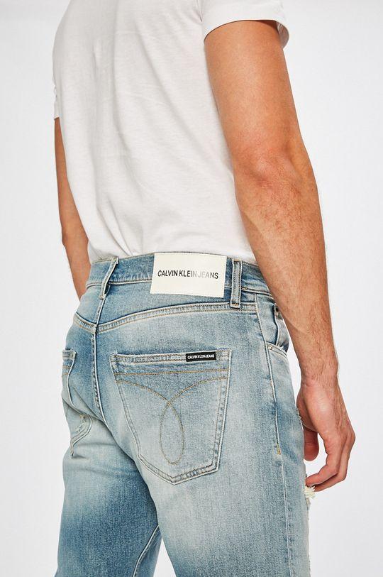 albastru Calvin Klein Jeans - Jeansi Athletic