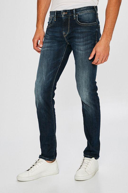 niebieski Pepe Jeans - Jeansy Hatch Męski