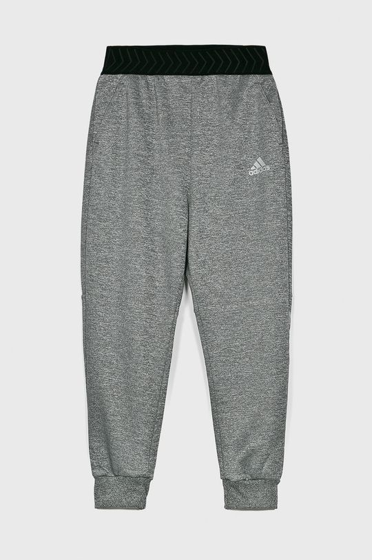 sivá adidas Performance - Detské nohavice 140-176 cm Chlapčenský