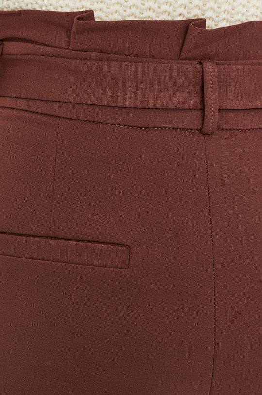 gaštanová Vero Moda - Nohavice