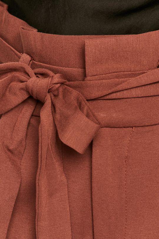 brązowy Vero Moda - Spodnie