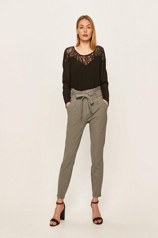 Vero Moda - Kalhoty šedá
